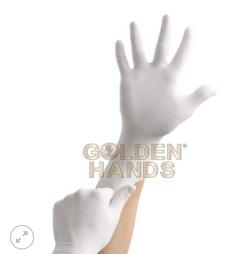 GOLDEN HANDS™ Powder Free Latex Exam Gloves