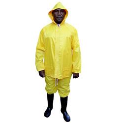 Yellow Rubberised Rainsuit