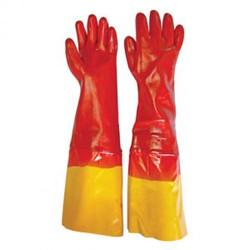 Red PVC Shoulder Glove