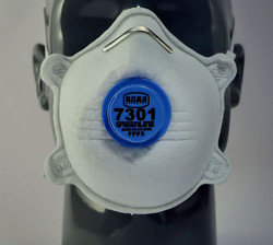 Greenline #7301 FFP3V Valved Masks
