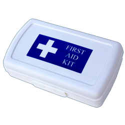 Hiker's First Aid Kit Carry Box