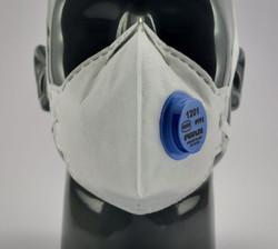 Greenline #1201 FFP2V Valved Masks