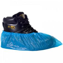 Overshoes, Plastic Blue