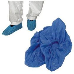 Overshoes, Plastic Blue2