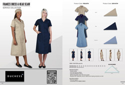 Frances Dress & Head Scarfs