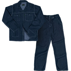 Premium Stone Washed Denim Conti Suit