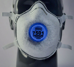 Greenline #7501 FFP2V Valved Masks