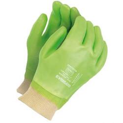 Centurion Green PVC Knitwrist Glove
