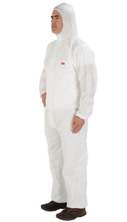 #4545 Elasticated face coverall -Type
