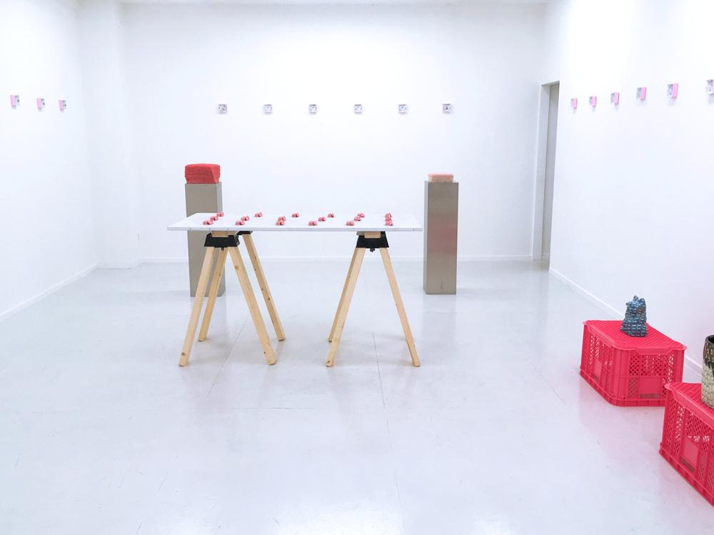 曖昧な連続-全体図-湯口萌香(2018)