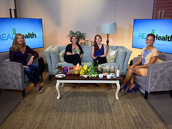 Recording of the first Episode for Real Health, a new holistic health channel on the home channel, dstv 179. To be broadcast 1 February 2016