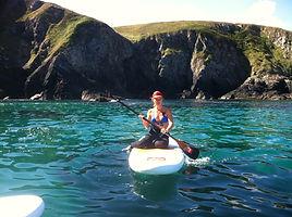 Stand up paddle et falaise abruptes