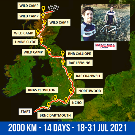Let's get iconic, time to LEJOG!