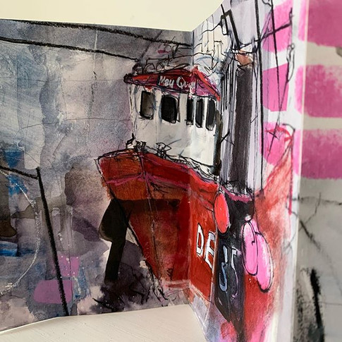 Cromwell Harbour No.1sketchbook