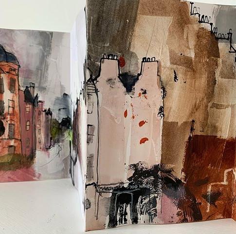 Spottiswoode Street, Marchmont sketchbook