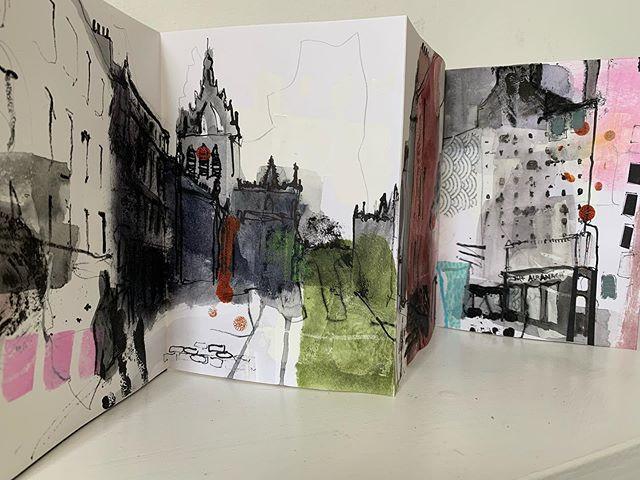 Royal Mile sketchbook No.1