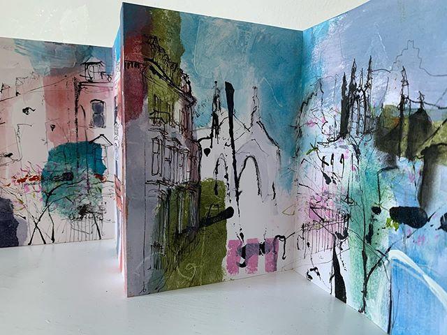 Belgrave Crescent sketchbook