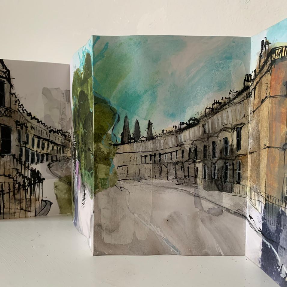 Eglinton Crescent Sketchbook
