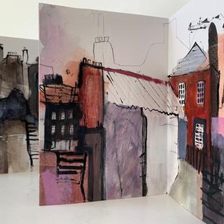Dunbar Backlands and High Street Sketchbook