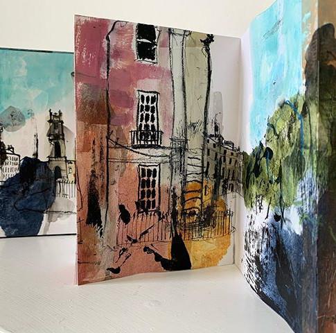 New Town sketchbook