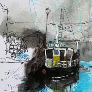 Fishing Boat Sketch