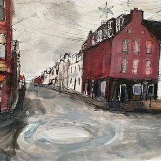 Dunbar High Street, December
