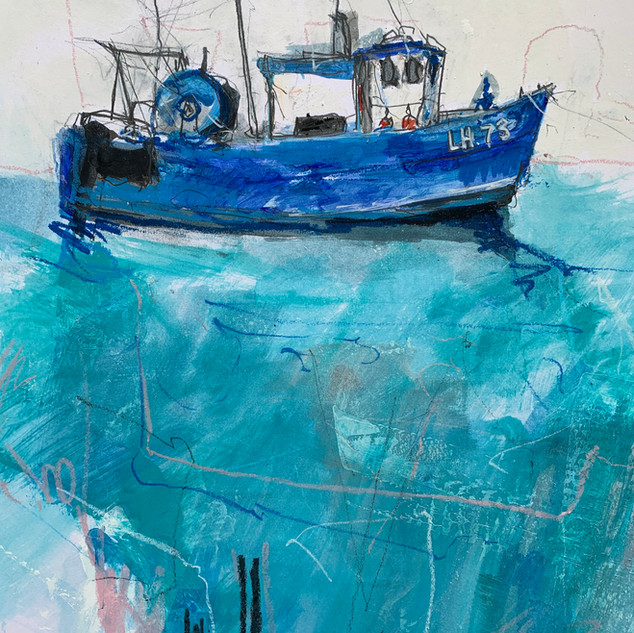 Dunbar Fishing Boat