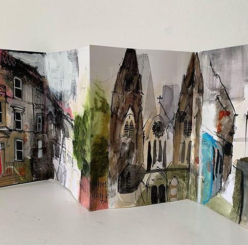 Edinburgh West End sketchbook No.2