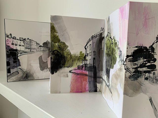 Carlton Terrace sketchbook