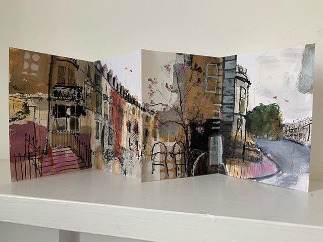 Edinburgh West End sketchbook