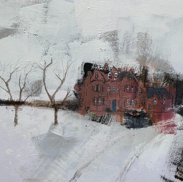 Snow on Winterfield