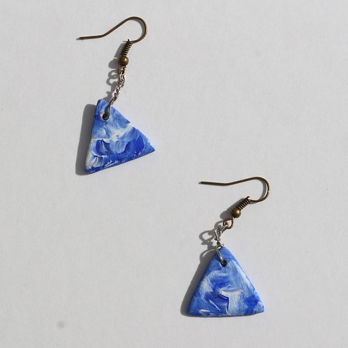 dreamytriangle earring