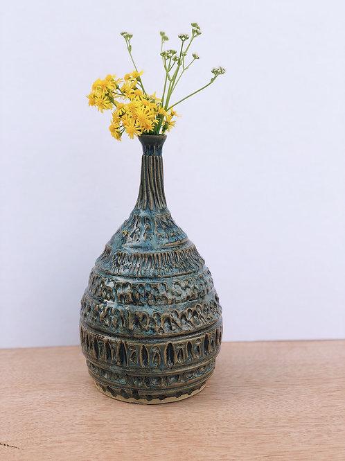 CarvedOcean Vase