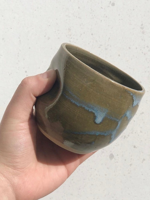 Grip cup in green