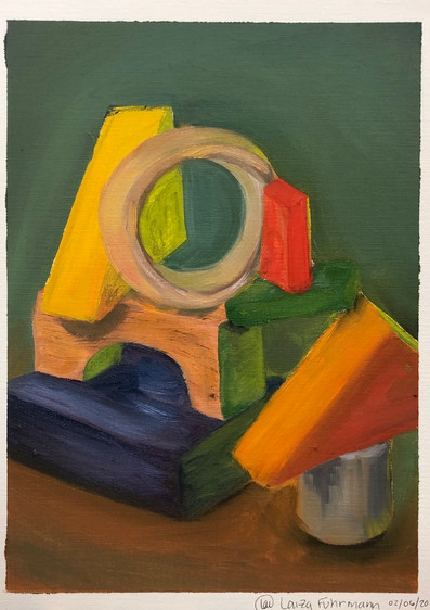 indoor color object study