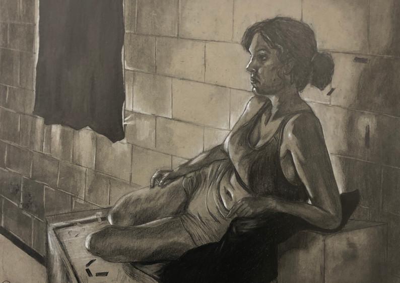 figure study (woman)
