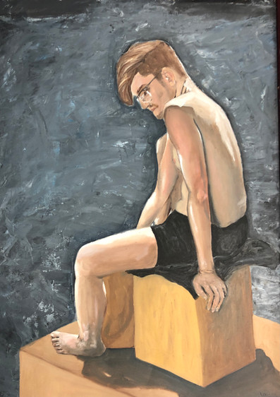 figure study (man)