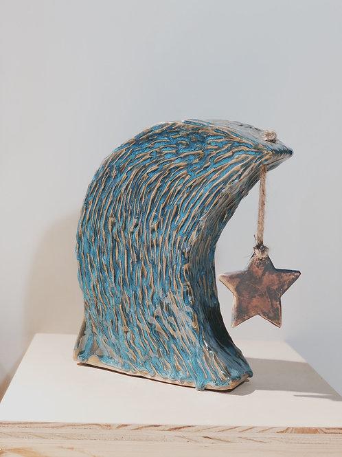 Moon & Star Sculpture