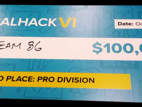 How Our Underdog Team Won $100,000 at GlobalHack VI