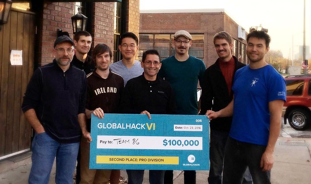 GlobalHack VI - Team 86 winners