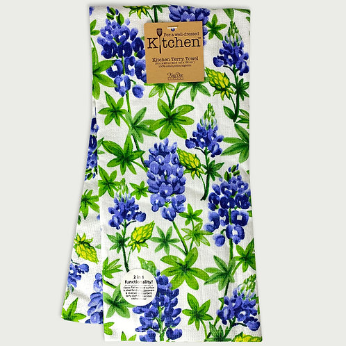 Bluebonnet Dual Purpose Towel
