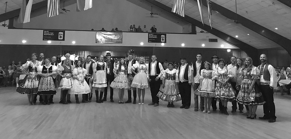 Polka Contest Dancers