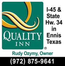 Quality Inn Ennis Texas