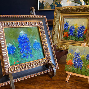 Bluebonnet Paintings