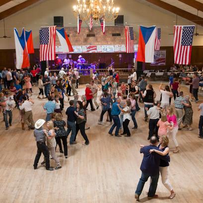 Dancing at the KJT Hall