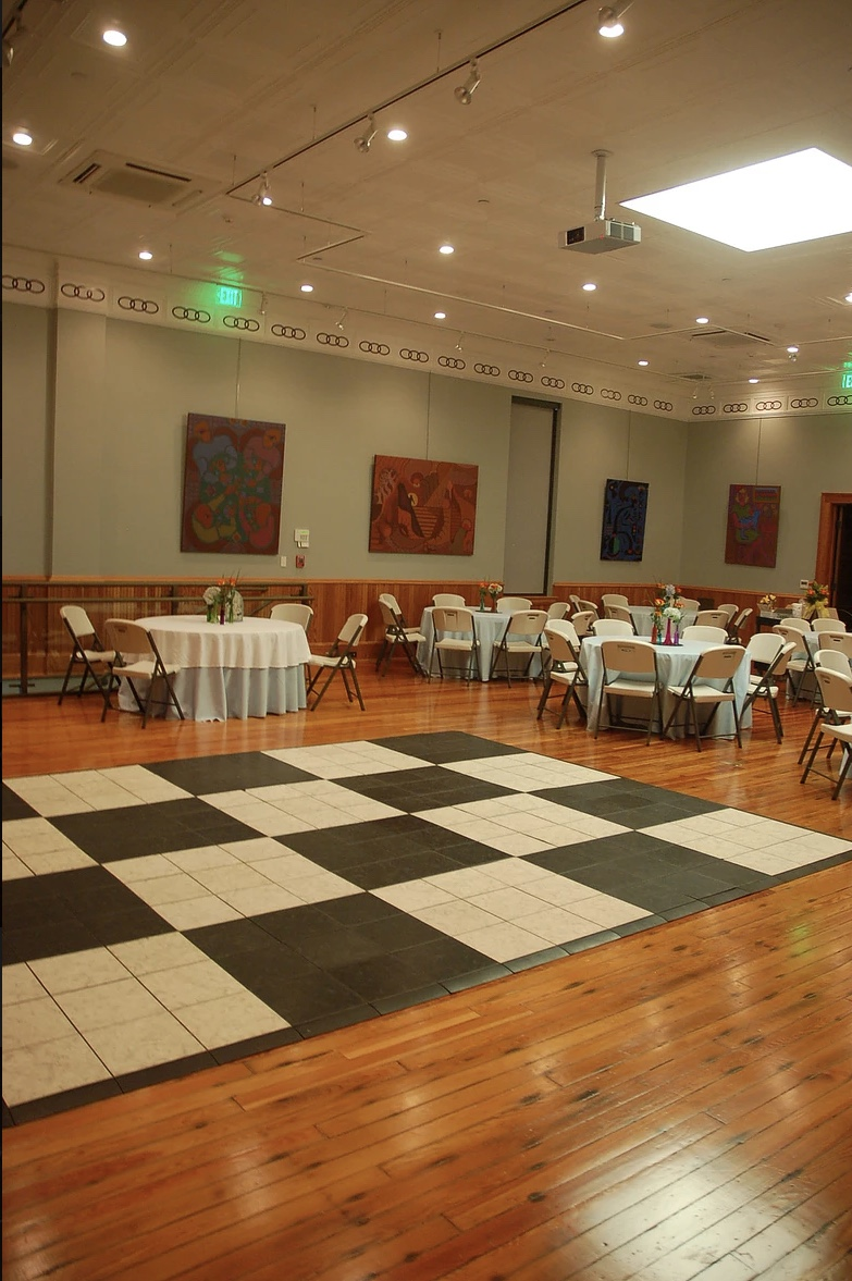 Reception with dance floor