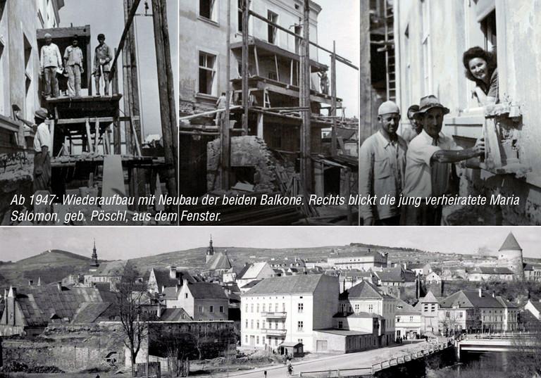Wiederaufbau ab 1947