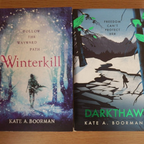 Winterkill series, by Kate A. Boorman