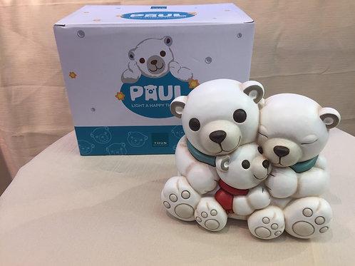 Thun Eisbär Familie