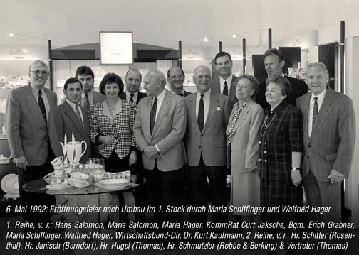 Eröffnungsfeier nach Umbau 1992